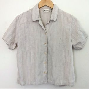 Picante Vintage 100 Cotton Loose fitting button up